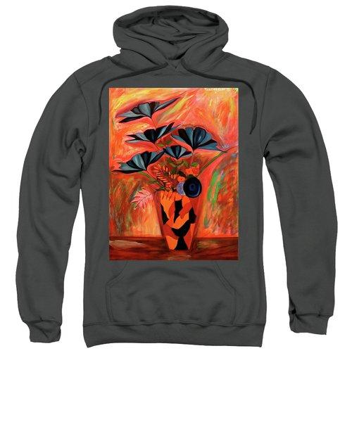Wild Flowers  A Still Life  Sweatshirt