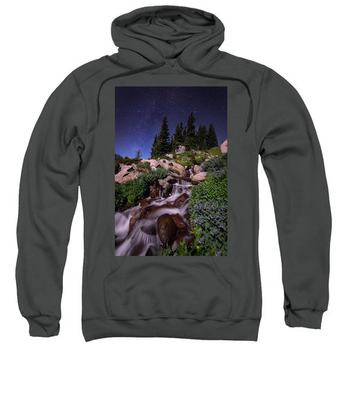 Wildflower Finale In The Indian Peaks Sweatshirt