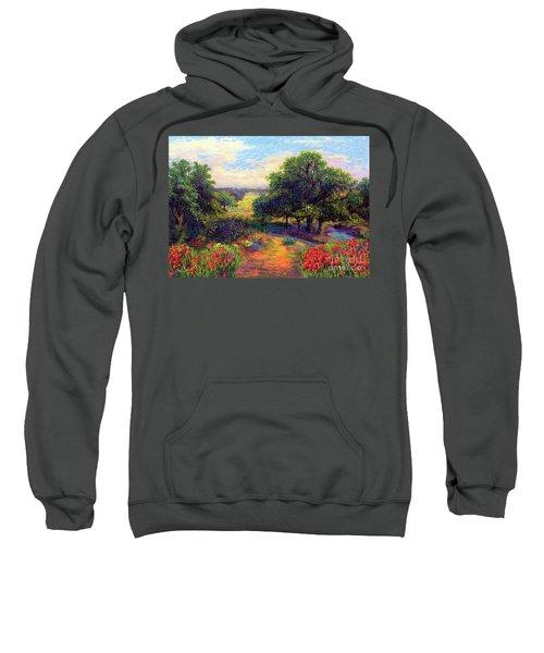 Wildflower Meadows Of Color And Joy Sweatshirt