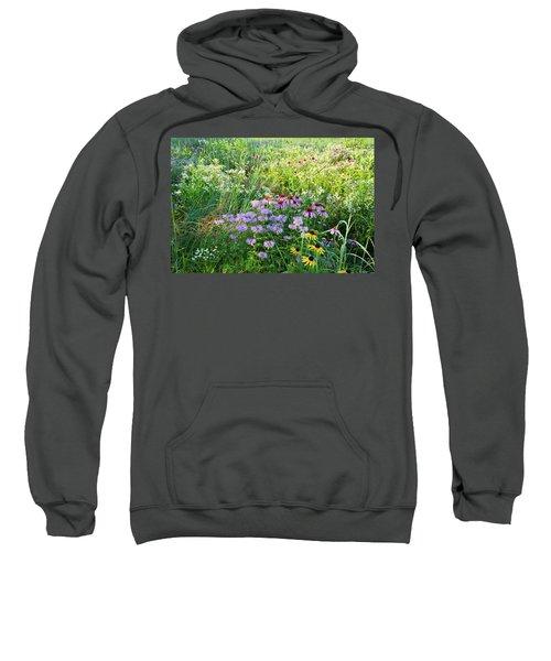 Wildflowers In Moraine Hills State Park Sweatshirt