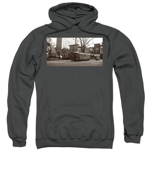 Wilkes Barre Pa Public Square Oct 1940 Sweatshirt