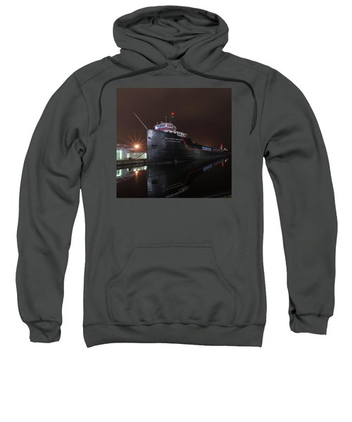 William G Mather At Night  Sweatshirt