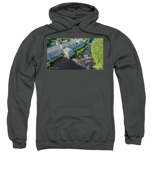 Willimantic River And Mill #2 Sweatshirt