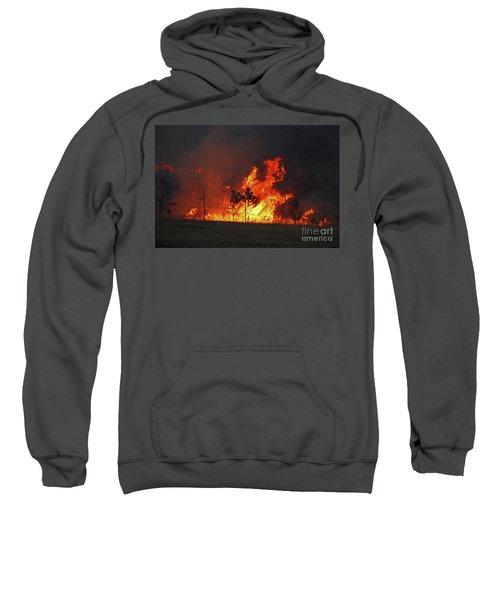 Wildfire Flames Sweatshirt