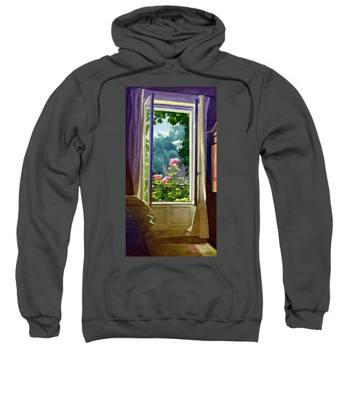 Window At Clermont Sweatshirt