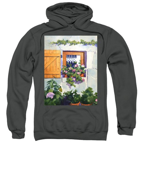 Window At St Saturnin Sweatshirt