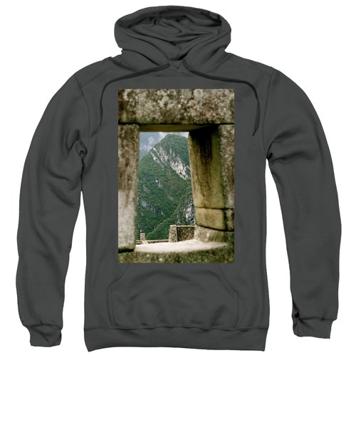 Window To The Gifts Of The Pachamama Sweatshirt