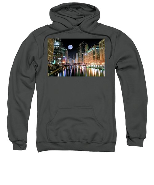 Windy City River Moon Sweatshirt