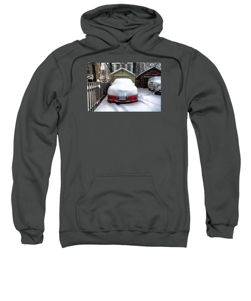 Sweatshirt featuring the photograph Winter-4 by Joseph Amaral