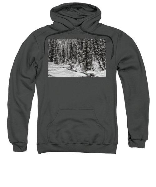 Winter Alpine Creek II Sweatshirt