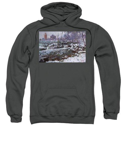 Winter At Goat Island Sweatshirt