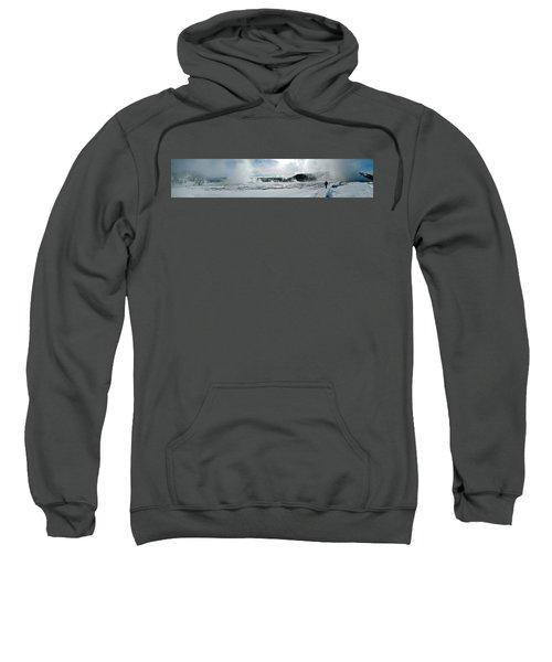 Winter At Grand Prismatic Sweatshirt