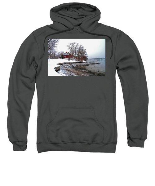 Winter At Perkins House  Sweatshirt