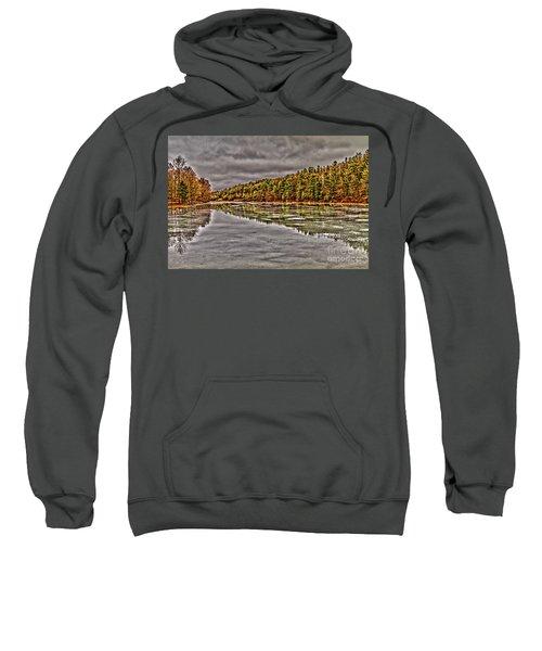 Winter At Pine Lake Sweatshirt