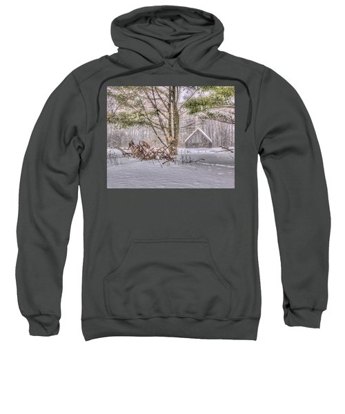 Winter At The Woods Sweatshirt