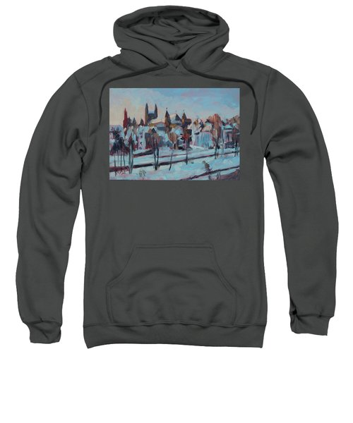 Winter Basilica Our Lady Maastricht Sweatshirt