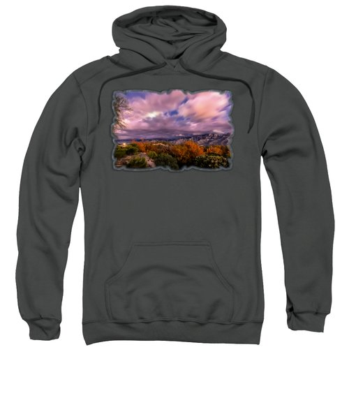 Winter Colors 25 Sweatshirt by Mark Myhaver