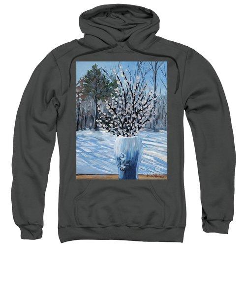 Winter Floral Sweatshirt