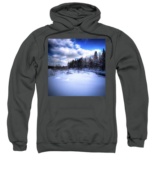 Sweatshirt featuring the photograph Winter Highlights by David Patterson