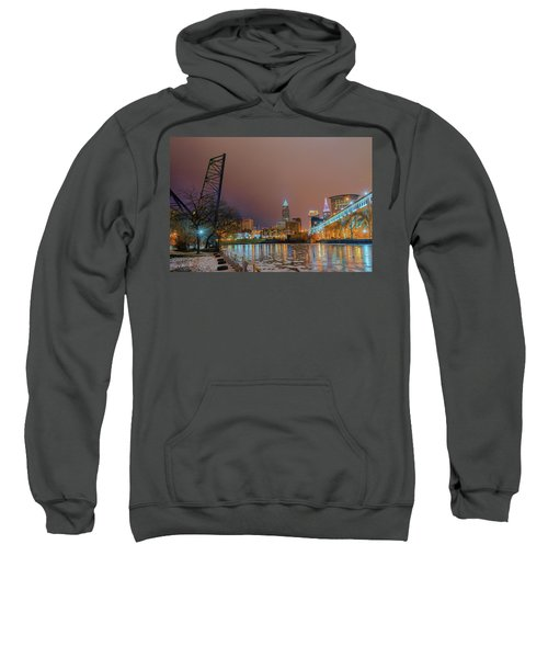 Winter In Cleveland, Ohio  Sweatshirt