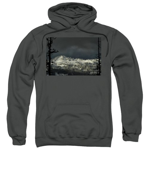 Winter In North Cascades Sweatshirt