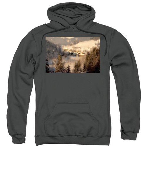 Winter Landscape Salzburger Land Sweatshirt