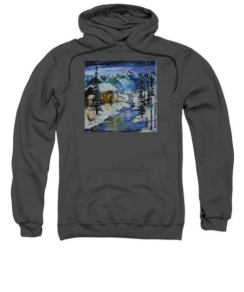 Winter Mountains Sweatshirt