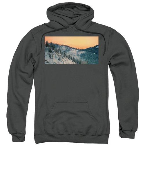 Winter Mountainscape  Sweatshirt