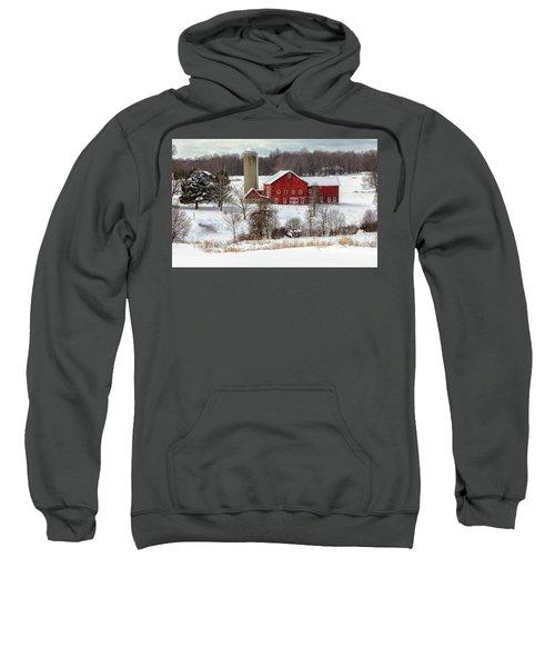 Winter On A Farm Sweatshirt