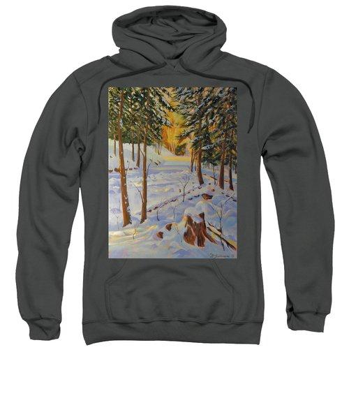 Winter On The Lane Sweatshirt