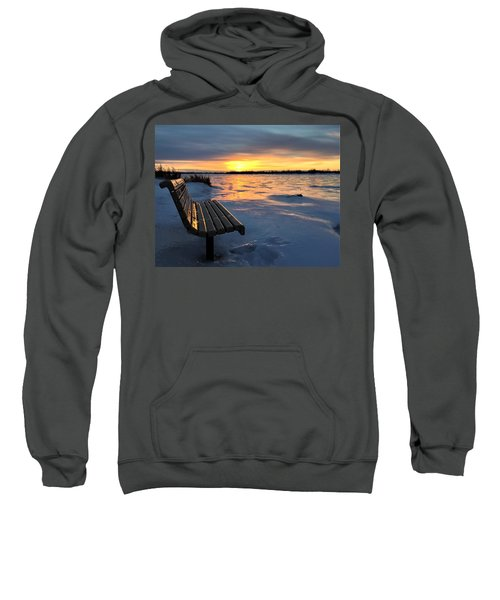 Winter Sunset Sweatshirt