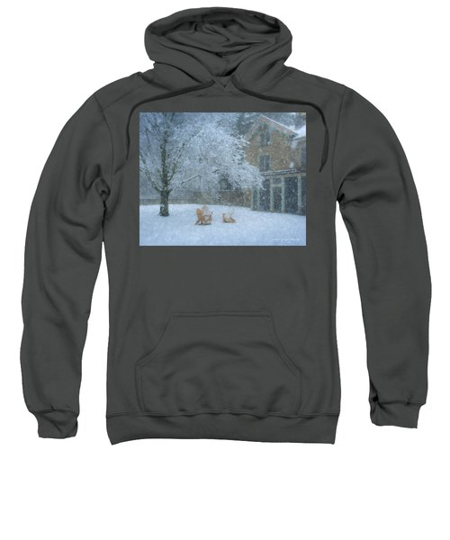 Winter Tea At Queset House Sweatshirt