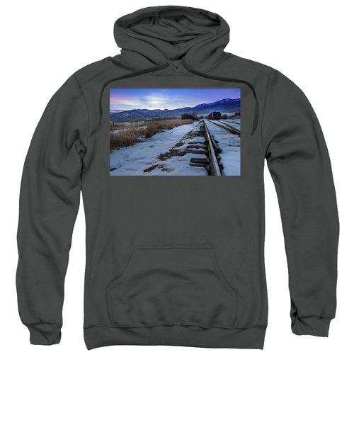 Winter Tracks Sweatshirt
