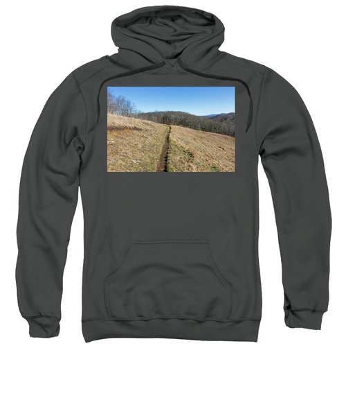 Winter Trail - December 7, 2016 Sweatshirt