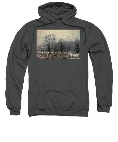 Winter's First Snowfall Sweatshirt