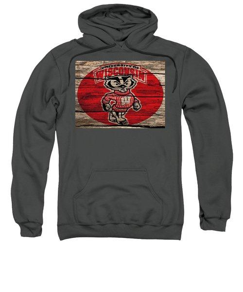 Wisconsin Badgers Barn Door Sweatshirt