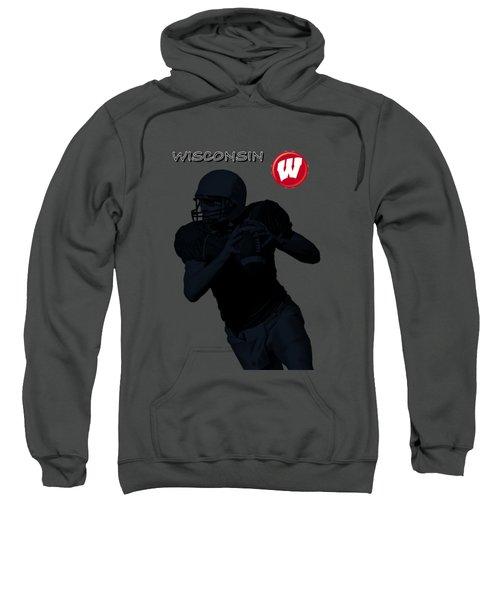 Wisconsin Football Sweatshirt by David Dehner