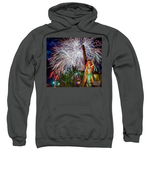 Wishes Over Prince Eric's Castle Sweatshirt