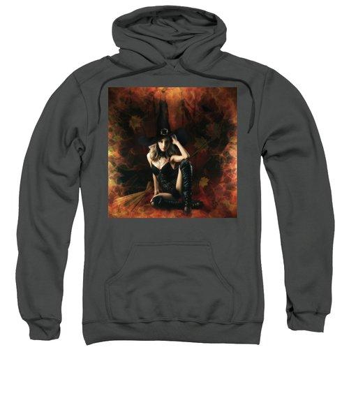 Witch's Broom Sweatshirt