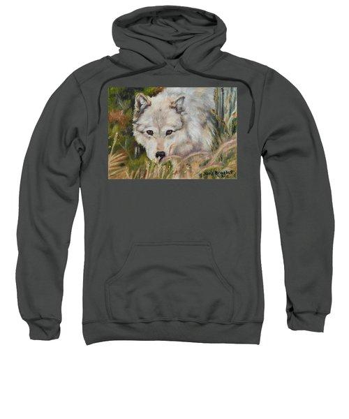 Wolf Among Foxtails Sweatshirt