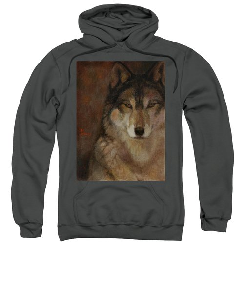 Wolf Head Sweatshirt