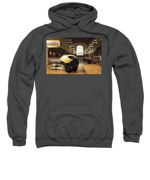 Wolverine Helmet In Law Library Sweatshirt