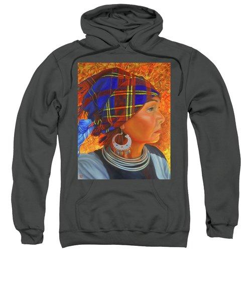 Woman In The Shadow Sweatshirt