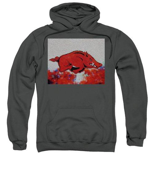 Woo Pig Sooie 2 Sweatshirt by Belinda Nagy