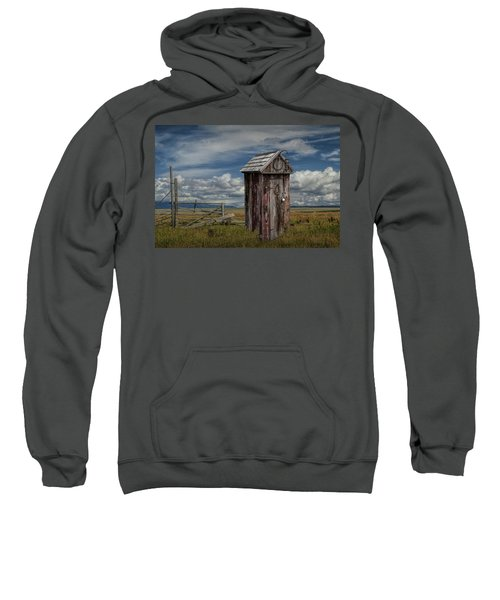 Wood Outhouse Out West Sweatshirt