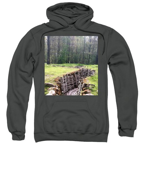 World War One Trenches Sweatshirt