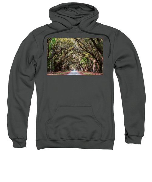 Wormsloe Plantation Oaks Sweatshirt