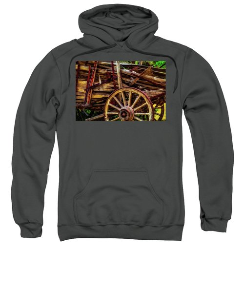Worn Western Wagon Sweatshirt