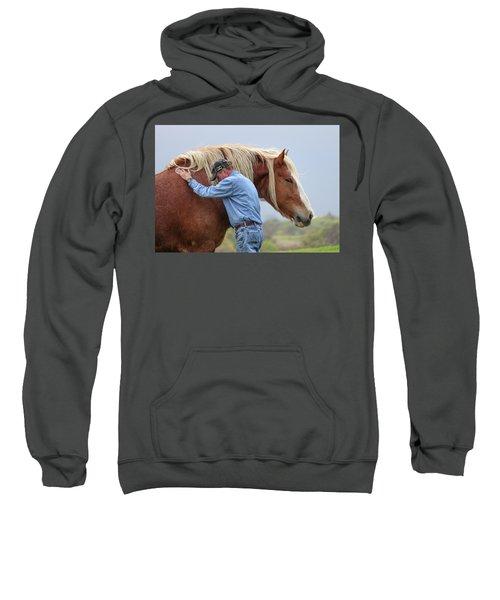 Wrangler Jeans And Belgian Horse Sweatshirt