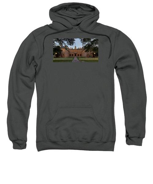 Wren Building At Dusk Sweatshirt